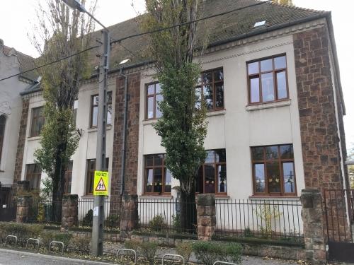 Lázár Vilmos iskola Budapest új fa ablakok