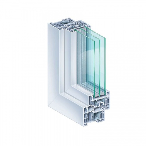 Kömmerling 88 MD 3 rétegű üveggel