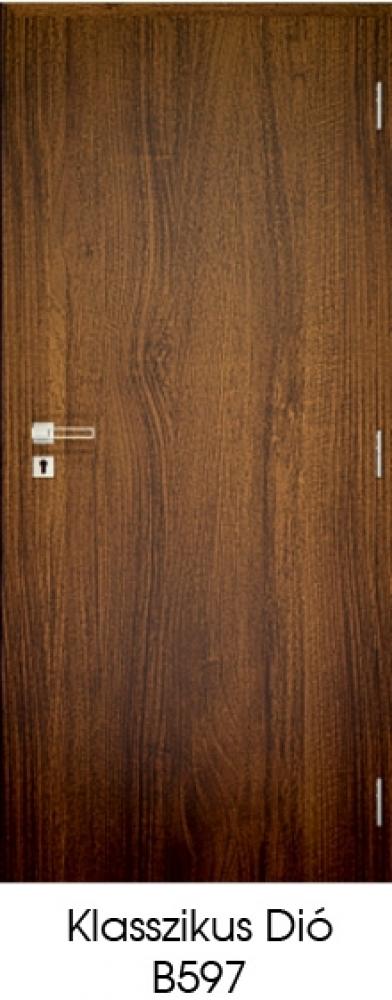 Dekorfóliás beltéri ajtó Utólag szerelhető tokkal