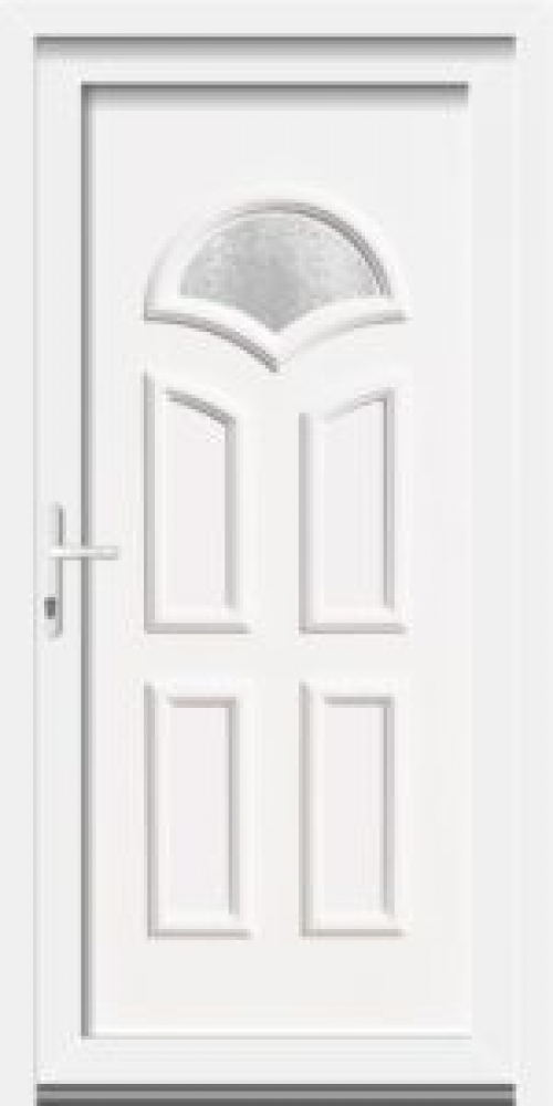 C1 Bejárati ajtó 3 rétegű üveggel