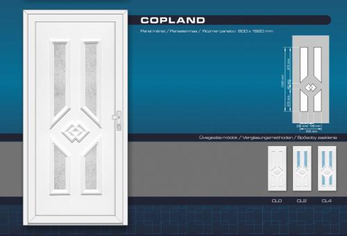 Kömmerling Copland Műanyag Bejárati Ajtó