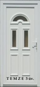 TEMZE 3 műanyag bejárati ajtó